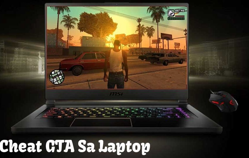 cheat gta san andreas laptop