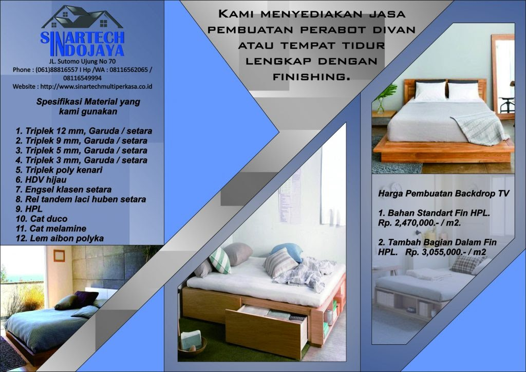 Jual Tempat Tidur Murah di Medan