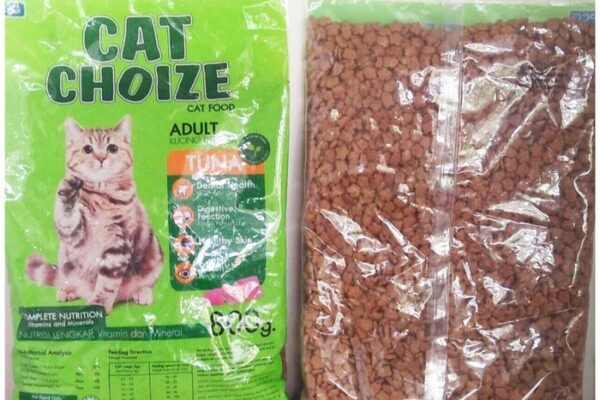 review makanan kucing cat choize