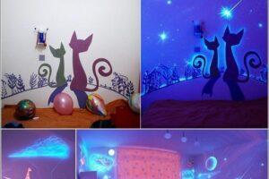 cat glow in the dark